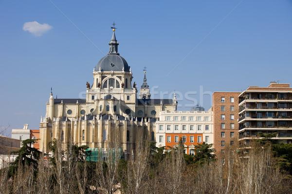Katedry Madryt święty królewski la Hiszpania Zdjęcia stock © rognar