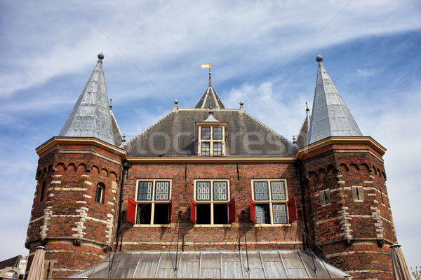 Waag in Amsterdam Stock photo © rognar
