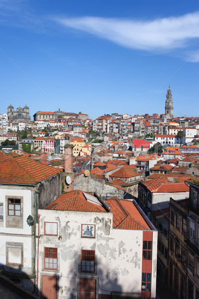 Cityscape of Porto in Portugal Stock photo © rognar