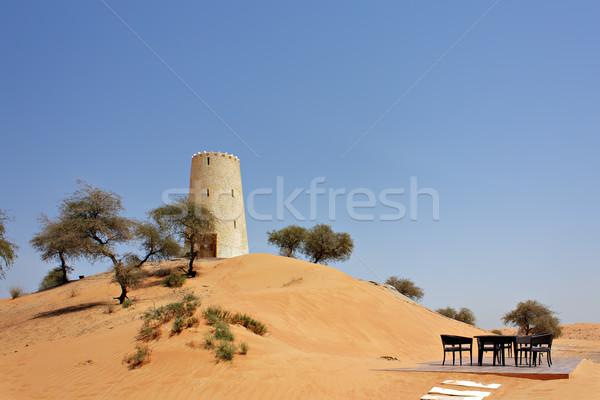 Arabic tower Stock photo © Roka