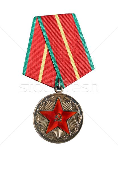 Russisch medaille object witte gunning Stockfoto © Roka