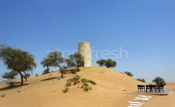 アラビア語 塔 旅行 アーキテクチャ イスラム アラブ ストックフォト © Roka