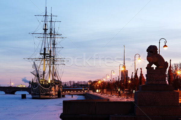 Peter's Quay. St. - Petersburg Stock photo © Roka