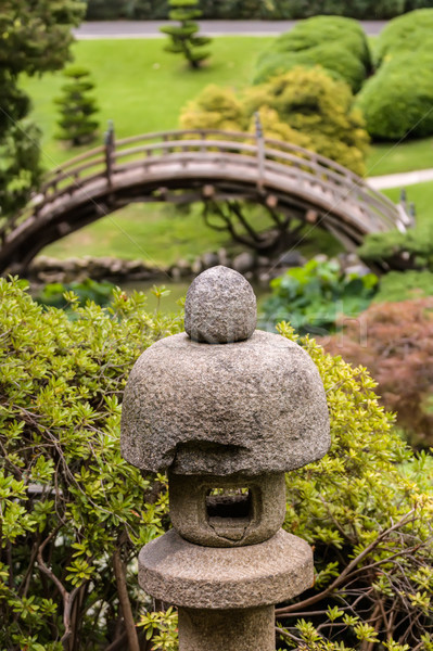 Japanese garden Stock photo © Roka