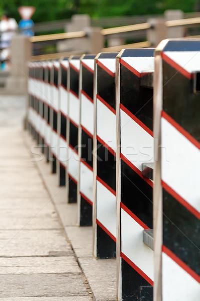 забор вокруг дворец древесины природы Сток-фото © Roka