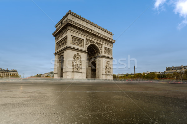 Arch of Triumph . Paris, France Stock photo © Roka