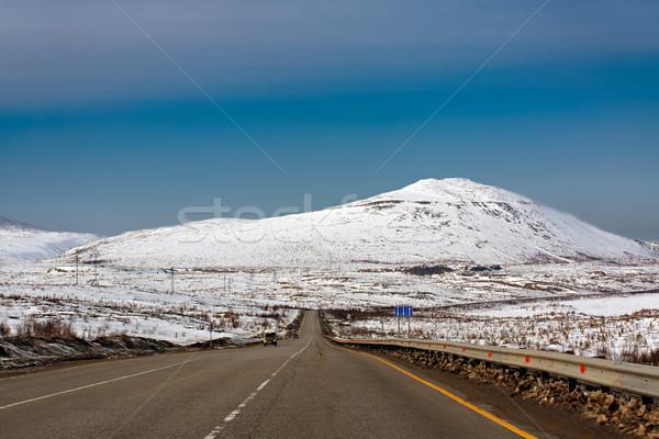 風景 表示 山 地域 ロシア 空 ストックフォト © Roka