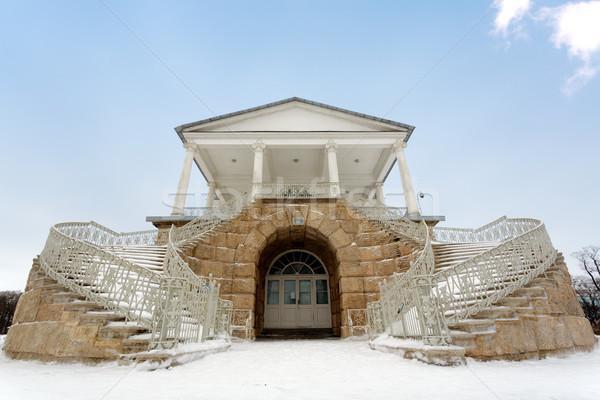 Galéria égbolt tél utazás park stílus Stock fotó © Roka
