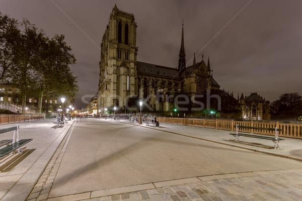 1泊 パリ フランス 有名な 光 ストックフォト © Roka