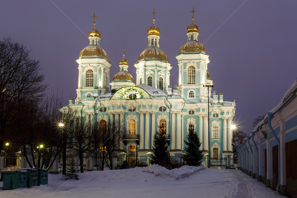 St. Nicholas Naval Cathedral Stock photo © Roka