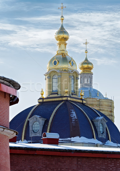 Cathedral In St.Peter And Paul Fortress Stock photo © Roka