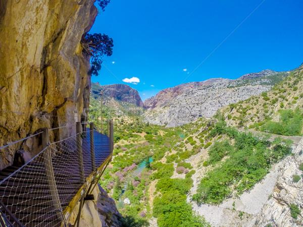Güzel görmek dağ yol dik Stok fotoğraf © Romas_ph