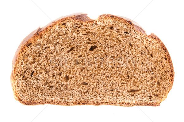 хлеб коричневый изолированный белый здоровья Сток-фото © Romas_ph