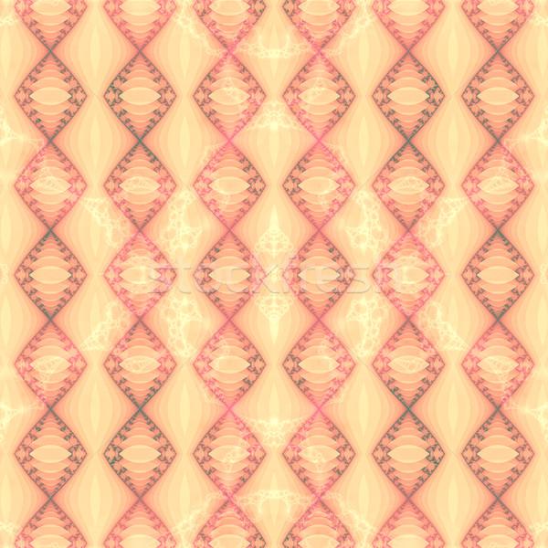текстуру фона Purple шаблон желтый искусства ткань Сток-фото © Romas_ph