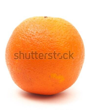 оранжевый один большой изолированный белый продовольствие Сток-фото © Romas_ph