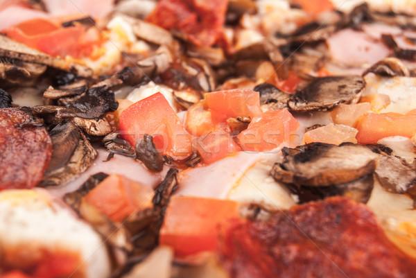 пиццы куриные сыра обеда красный Сток-фото © Romas_ph