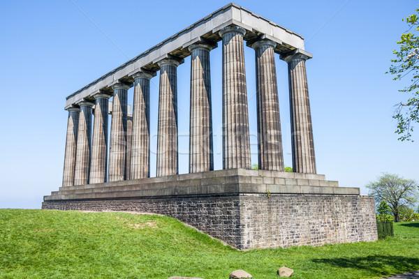 National Monument in Edinburgh Stock photo © romitasromala