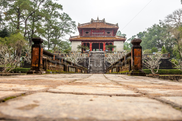 Ming Mang Emperor Tomb in Hue, Vietnam Stock photo © romitasromala