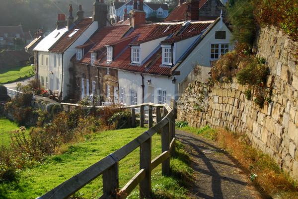 живописный север Йоркшир зеленый путешествия Сток-фото © ronfromyork