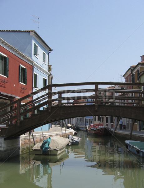 Venise Italie canal scène urbaine couleur Photo stock © ronfromyork