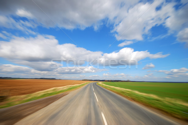 Country road Stock photo © ronfromyork