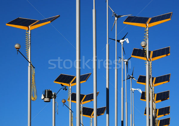 Alternative energy Stock photo © ronfromyork