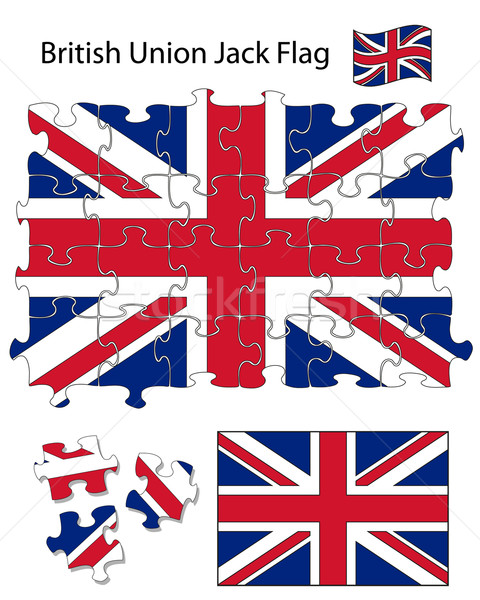 Union Jack Jigsaw Stock photo © ronfromyork