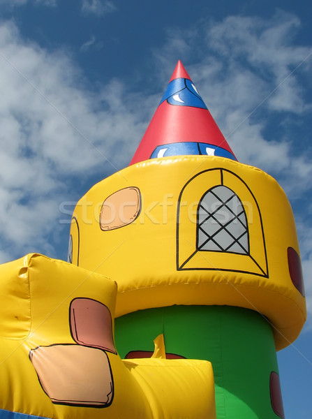 Bouncy castle Stock photo © ronfromyork