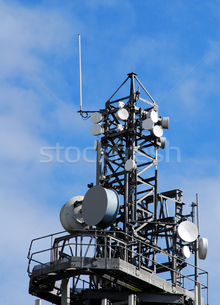 Communication tower Stock photo © ronfromyork