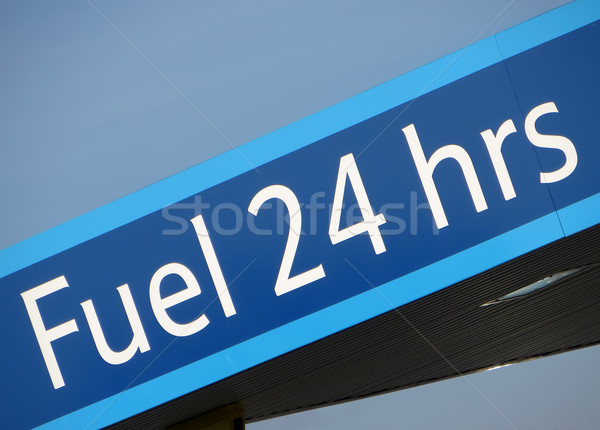 Fuel sign Stock photo © ronfromyork