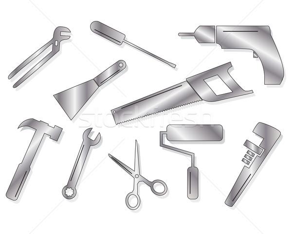 Ten tool shapes Stock photo © ronfromyork
