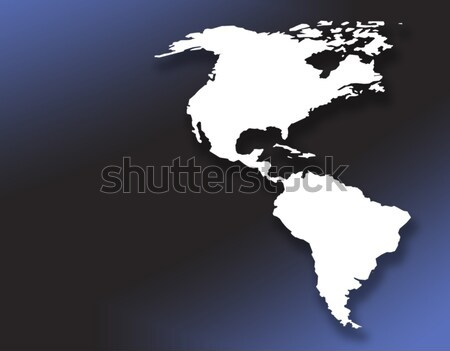 American Continent Stock photo © ronfromyork
