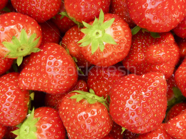 Strawberries Stock photo © ronfromyork