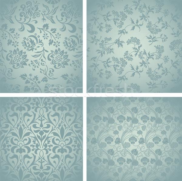 Retro Pattern Set Stock photo © roverto
