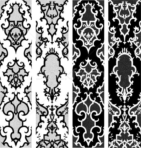 дизайна Элементы старые вектора файла текстуры Сток-фото © roverto