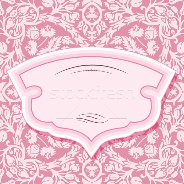 кадр структур пастельный розовый ретро Сток-фото © roverto