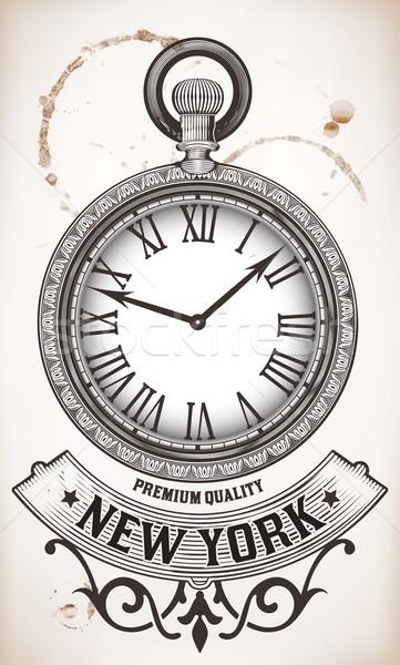 Pocket clock Stock photo © roverto