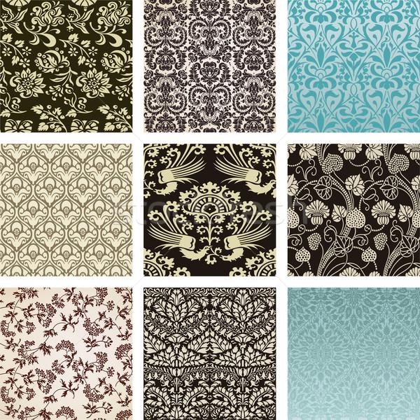 Pattern set Stock photo © roverto