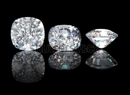 Stock photo:  Marquis. Collections of jewelry gems