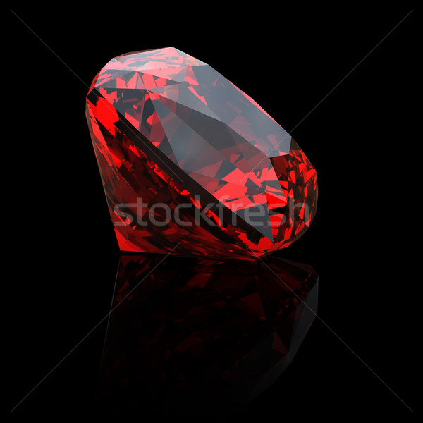 Jewelry gems shape of square Stock photo © Rozaliya