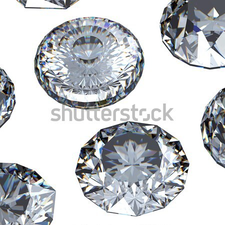 Round sky blue topaz Stock photo © Rozaliya