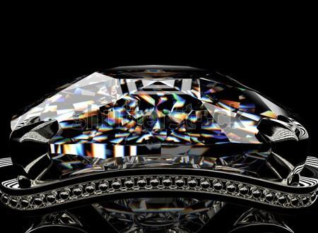 Ring with diamond  Stock photo © Rozaliya