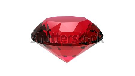 Round garnet  Stock photo © Rozaliya