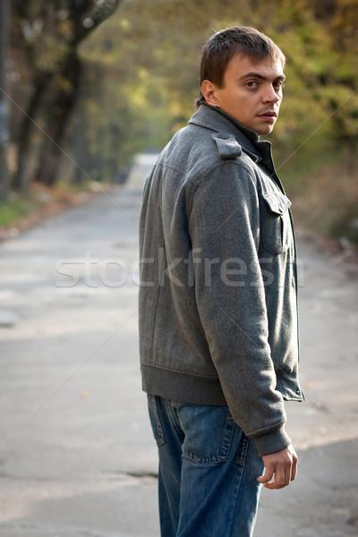 looking back 2 Stock photo © rozbyshaka