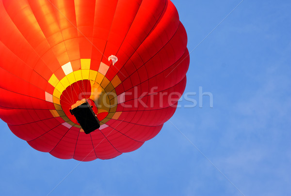 hot air balloon. bottom view Stock photo © rozbyshaka