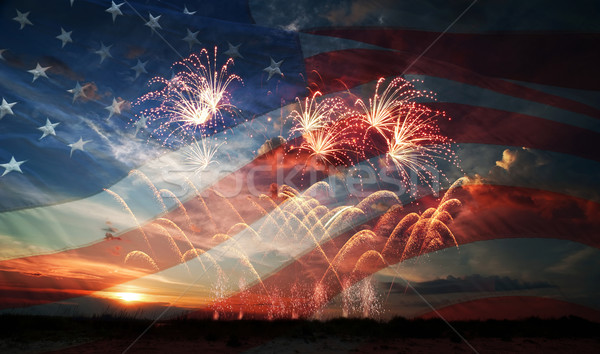 Independence day Stock photo © rozbyshaka