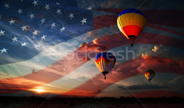 Independence day.  Stock photo © rozbyshaka
