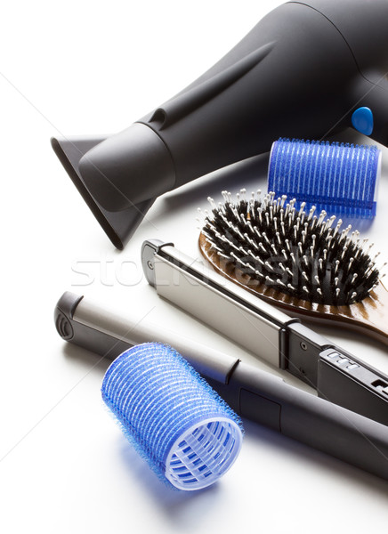 Stock photo: professional tools of hairdresser