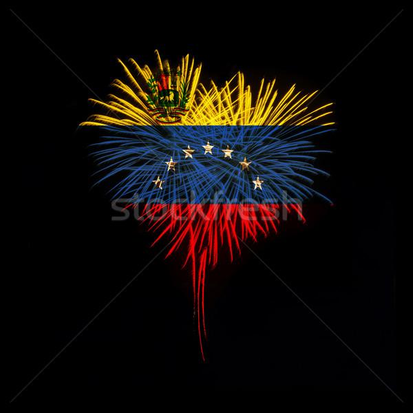 Independence day. Welcome to Venezuela Stock photo © rozbyshaka