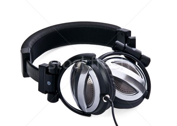 Studio ear-phones 1 Stock photo © rozbyshaka